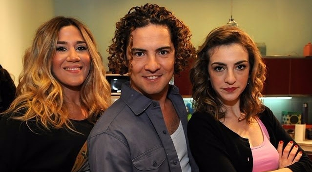 David Bisbal Making off serie de Pol-ka.