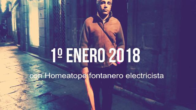 Homeatope fontanero electricista trabaja en Nochevieja.